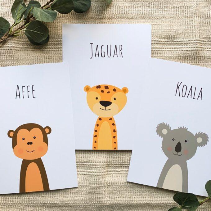 Kinderzimmer Posterset