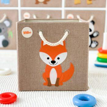 Aufbewahrungsbox-für-das-Kinderzimmer-Fuchs