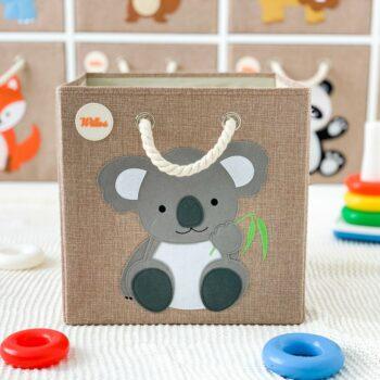 Aufbewahrungsbox-für-das-Kinderzimmer-Koala