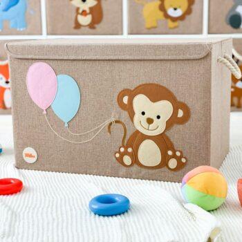 Spielzeugkiste-Affe