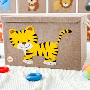 Spielzeugkiste-Tiger