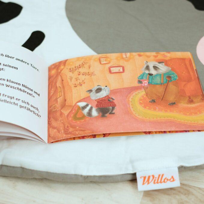 Krabbeldecke mit Kinderbuch 5