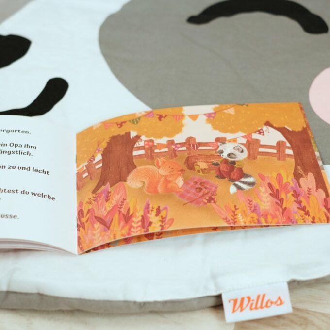 Krabbeldecke mit Kinderbuch 6
