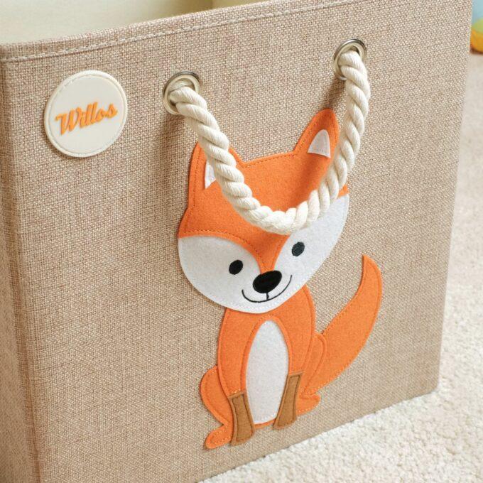 Spielzeugbox-mit-Griff-Fuchs