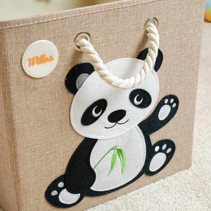 Spielzeugbox-mit-Griff-Panda