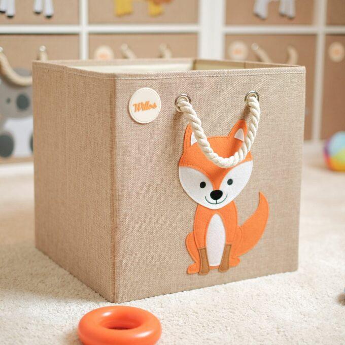 Spielzeugkiste-Fuchs
