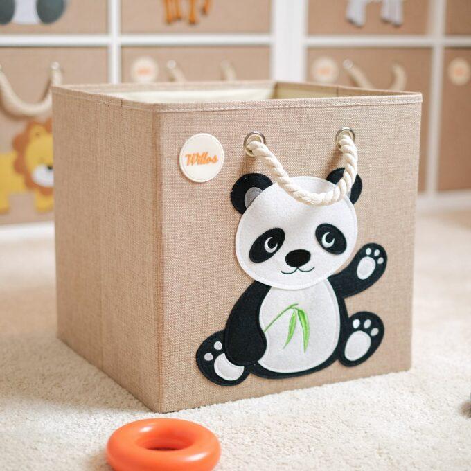 Spielzeugkiste-Panda